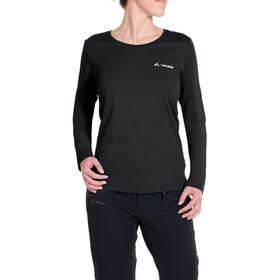 VAUDE Brand LS Shirt Women, black